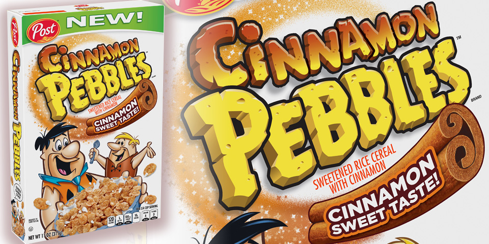 Cinnamon Pepples Cereal : My inner child rejoices
