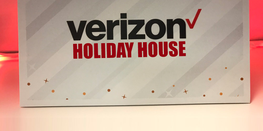 Our Visit to the Verizon Holiday House