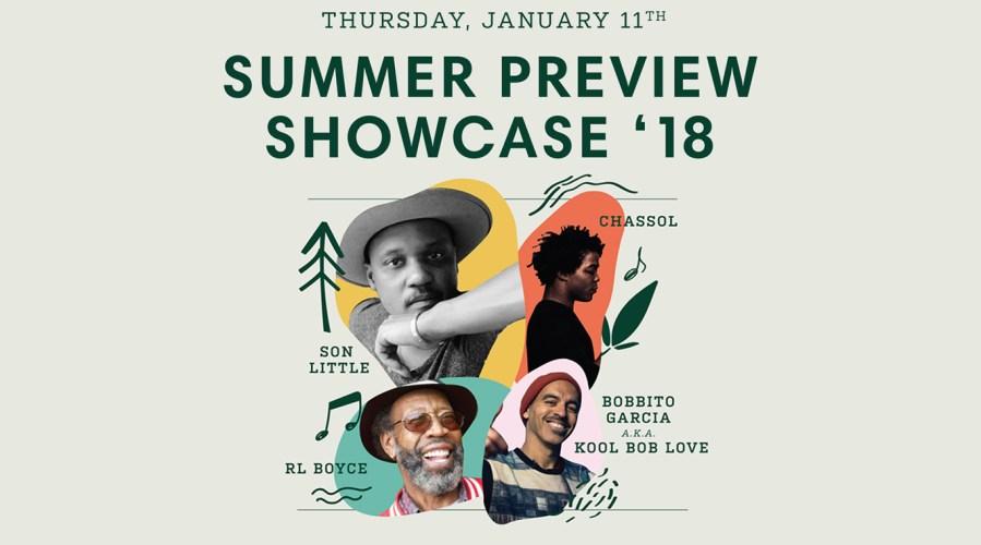 City Parks Foundation's SummerStage & Santa Monica Pier Twilight Concert Series Summer Preview Showcase featuring…
