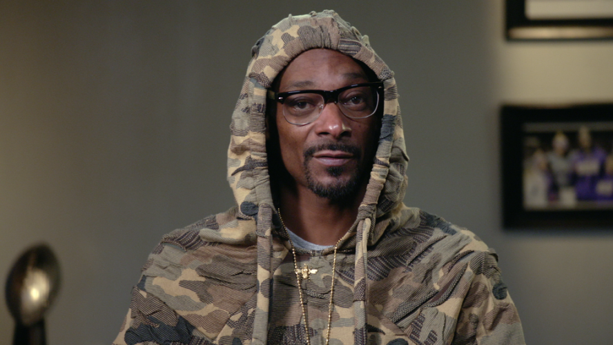 """Coach Snoop"" only on Netflix"