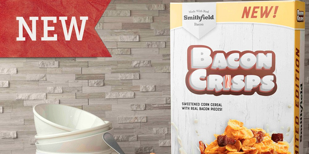 Smithfield launches Bacon Cereal!