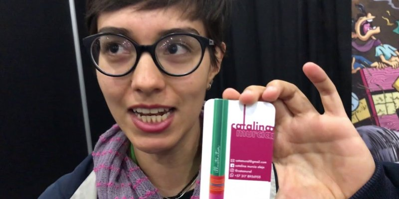 CATALINA MURCIA – Interview | #NYCC18