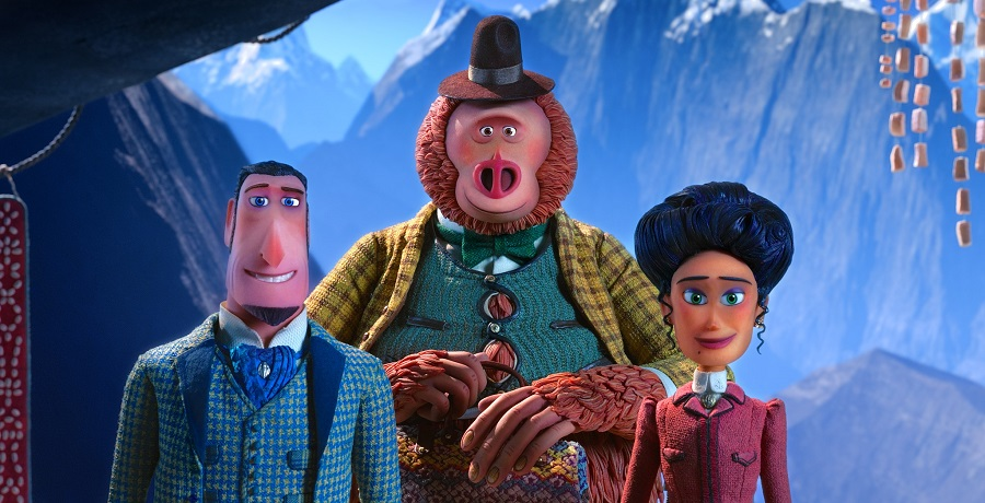 MISSING LINK | New Trailer for LAIKA Film – Hugh Jackman, Zoe Saldana, Zach Galifianakis