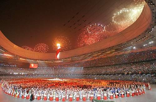 L'interno del National Stadium (Ap)