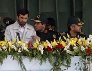 Il presidente Ahmadinejad (Epa)
