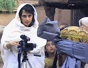 Samar Minallah nel suo lavoro