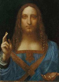 Il «Salvator Mundi» attribuito a Leonardo. Sarà in mostra a Londra in autunno