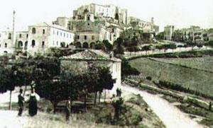 Buccino in una fotografia del 1906