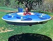 Un'immagine del flying saucer (Internet)