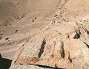 Gli scavi di Qumran, nel Mar Morto (Ap)