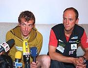 Walter Nones e Simon Kehrer