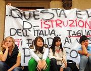 Proteste contro la riforma Gelmini (Emblema)