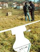 Misurazioni della radioattività in Bosnia (Ap)
