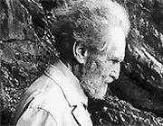 Ritratto di Vittorugo Contino per il volume 'Ezra Pound in Italy' (Rizzoli)