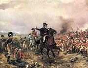 Wellington a Waterloo (di Robert Alexander Hillingford)