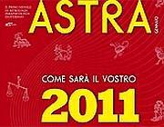 La copertina di «Astra» di dicembre con previsioni del 2011 e rito propiziatorio collettivo da effettuare il 31 dicembre