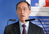 Il ministro dell'Interno francese, Claude Guéant (Ap)