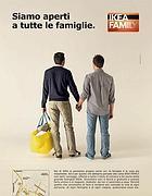 La pubblicità Ikea (Ansa)