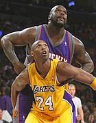 Contro l'ex compagno: Shaquille O'Neal e Kobe Bryant (Reuters)