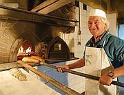 Il forno di un panettiere