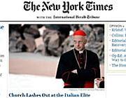 La home page del New York Times