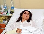 Mariella Fasanella, sopravvissuta al crollo (Arcieri)