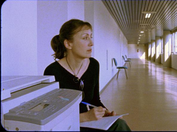 Nicoletta Braschi nel film «Mi piace lavorare- Mobbing» di Francesca Comencini
