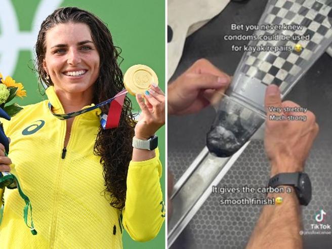 Canoa riparata con un preservativo: così Jessica Fox vince l'oro alle  Olimpiadi- Corriere.it