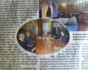 L'incontro tra Ciancio e Alfano pubblicato sul quotidiano di Ciancio 'La Sicilia'