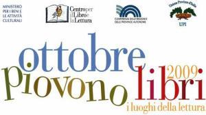 Il logo di «Ottobre Piovono Libri»