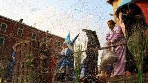 Un immagine del Carnevale 2009
