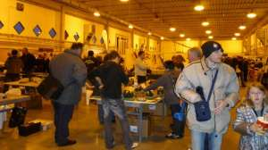 visitatori all'Expo Model di Venturina