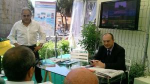 Fulvio Murzi a sinistra con l'Ex sindaco Anselmi