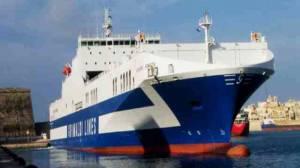 La nave che ha subito l'incidente