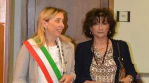 Il sindaco Soffritti in una recente immagine con il prefetto