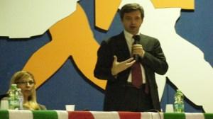 Il Ministro Orlando con Silvia