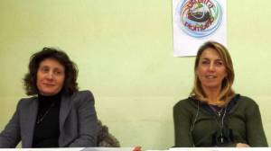 Marina Riccucci e Cinzia Bartalini