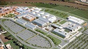 una grafica del nuovo ospedale di Pisa