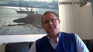 il sindaco di Piombino Massimo Giuliani
