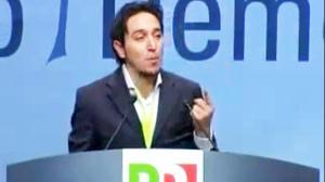 Il consigliere regionale Matteo Tortolini