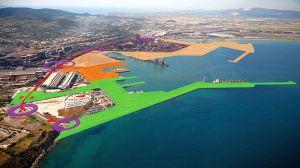 il porto di Piombino al termine dei lavori