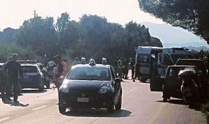 una foto dell'incidente (fonte Facebook)