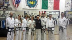 Maestri e atleti taekwondoo