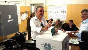 Il presidente uscente al voto