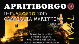 la locandina di Apriti Borgo 2015