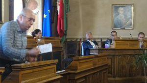 un intervento in IV commissione a Piombino
