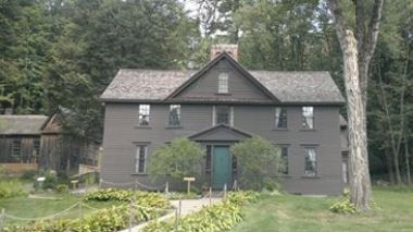 La casa di Louisa May Alcott a a Concord, nel Massachusetts