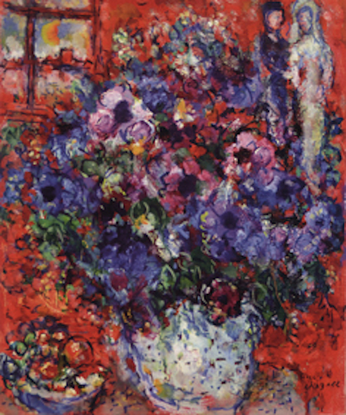 Marc Chagall mostra pittore