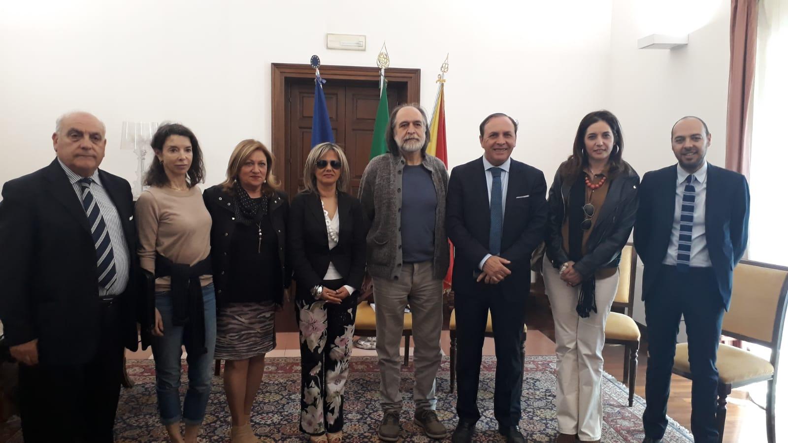Paternò, una Scuola di Cinema grazie all'italoamericano Vitti: il progetto piace al sindaco