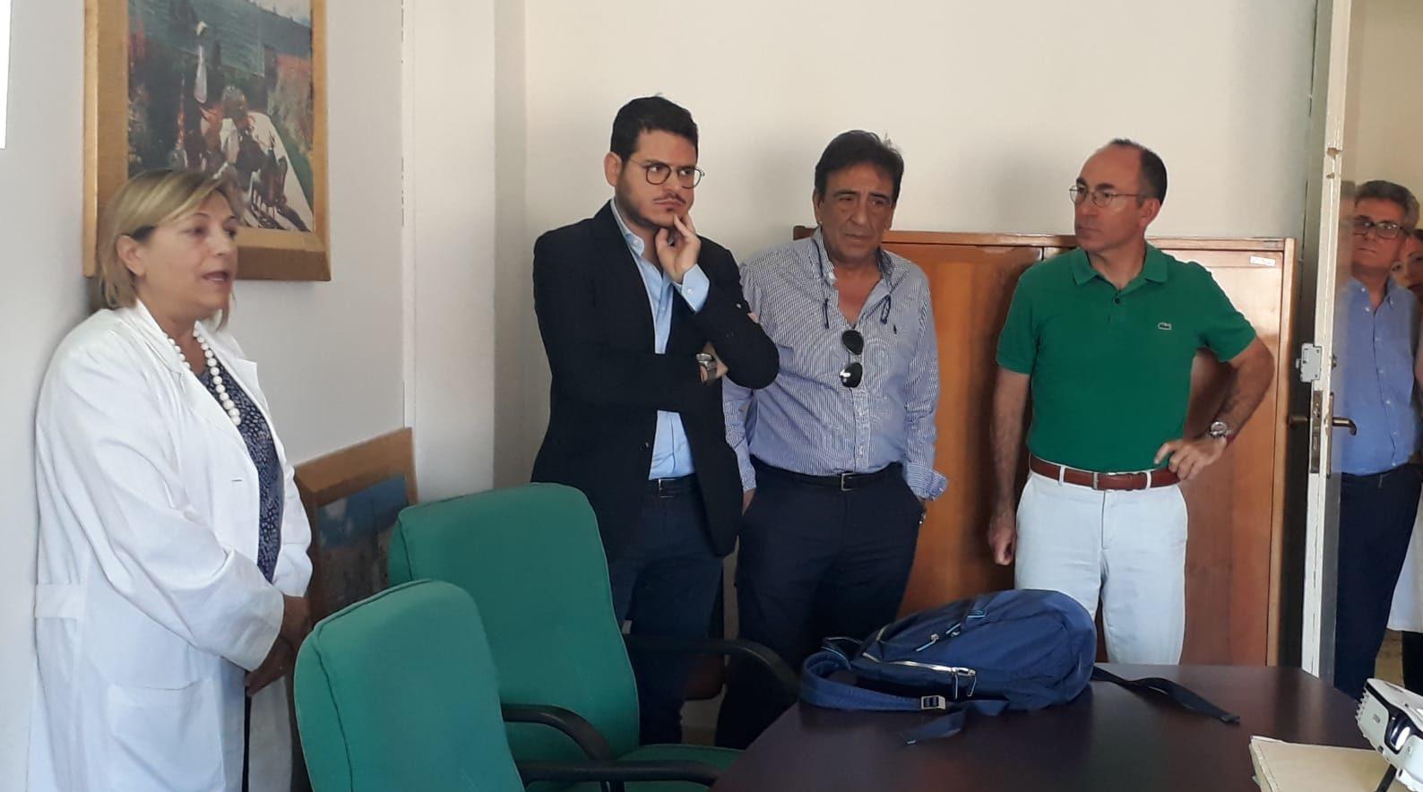 Paternò, il Dg dell'Asp in visita all'Ospedale: chiesti più anestesisti e nuovo Pronto soccorso